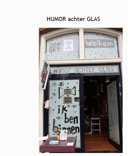 Humor achter glas