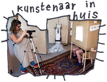 Kunstenaar in Huis