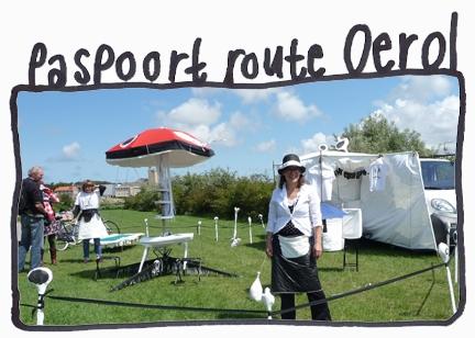 Paspoort Route Oerol