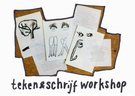 Teken- en schrijf workshops