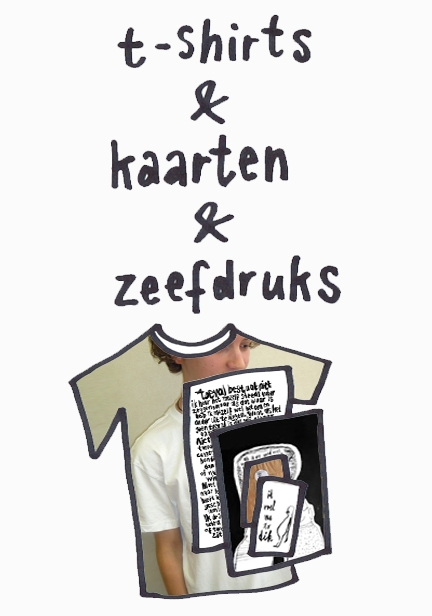 T-shirts & Zeefdruk & Kaarten